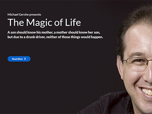 Web project for themagicoflife